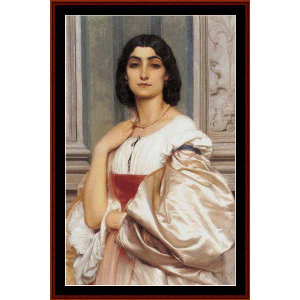 A Roman Lady, 1858 - Leighton cross stitch pattern by Cross Stitch Collectibles | Crafting | Cross-Stitch | Wall Hangings
