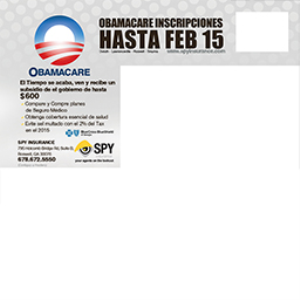 obama care mail 3 locations