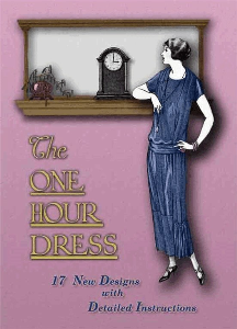 1920s make a flapper dress in 1 hour book great gatsby downton abbey