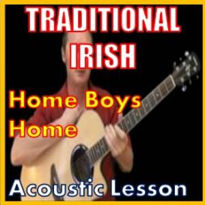 learn to play home boys home - irish traditional