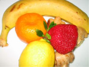 lemon_ strawberries_banana_mandarin__ginger