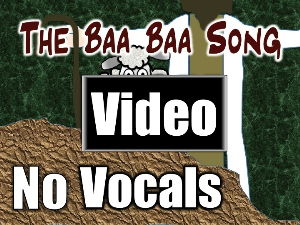baa baa song - video - no vocals