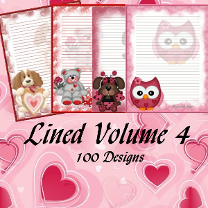 Lined Volume 4 | Crafting | Paper Crafting | Other
