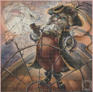 Captain (Kapitan) | Crafting | Cross-Stitch | Animals