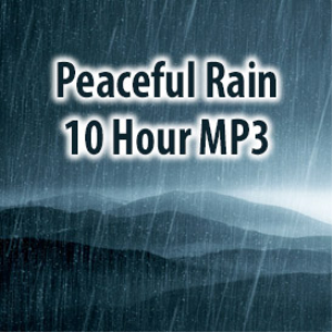 Peaceful Rain MP3 (10 Hours) | Music | Ambient