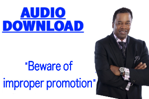 Beware of improper promotions | Audio Books | Religion and Spirituality