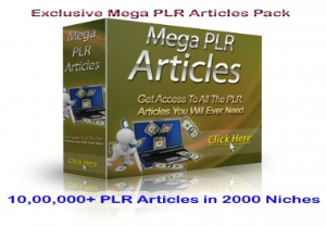 1,000,000+ PLR Articles in 2000 Niches | eBooks | Business and Money