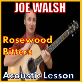 First Additional product image for - Learn to play Rosewood Bitters By Joe Walsh