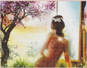 Before the mirror (Pred zrcadlem)   Crafting   Cross-Stitch   Other