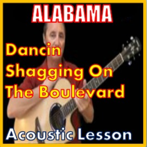 Learn to play Dancin Shaggin On The Blvd by Alabama | Movies and Videos | Educational