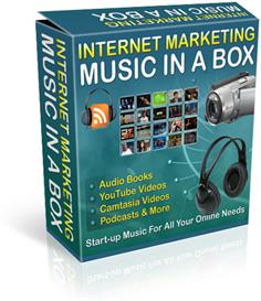 internet marketing music in a box 101 tracks royalty free