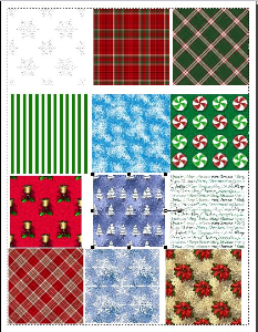 christmas backgrounds/scrapbooking paper