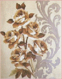 Roses (Ruze) | Crafting | Cross-Stitch | Other