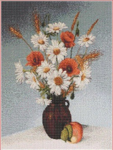 Wildflowers (Polni kviti) | Crafting | Cross-Stitch | Other