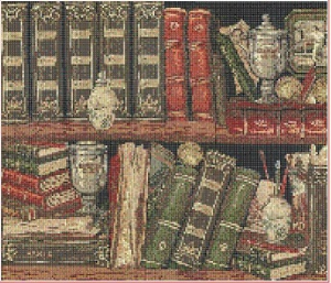 Library (Knihovna) | Crafting | Cross-Stitch | Other