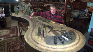 Model Railroad layout Construction The Blackstone layout HO/Hon3 Narrow Gauge | Movies and Videos | Special Interest
