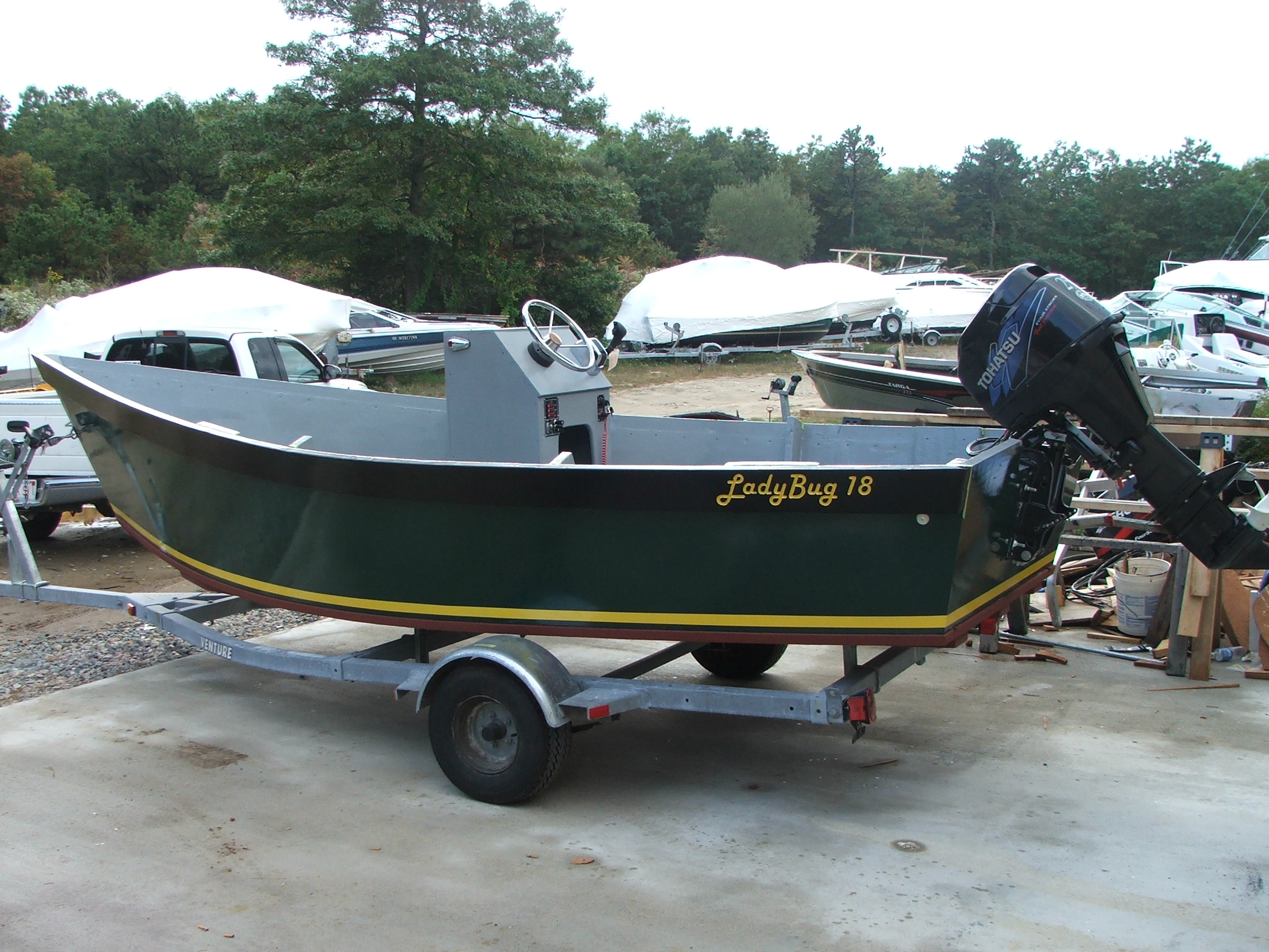 Third Additional product image for - Lady Bug Commercial Skiff Plans