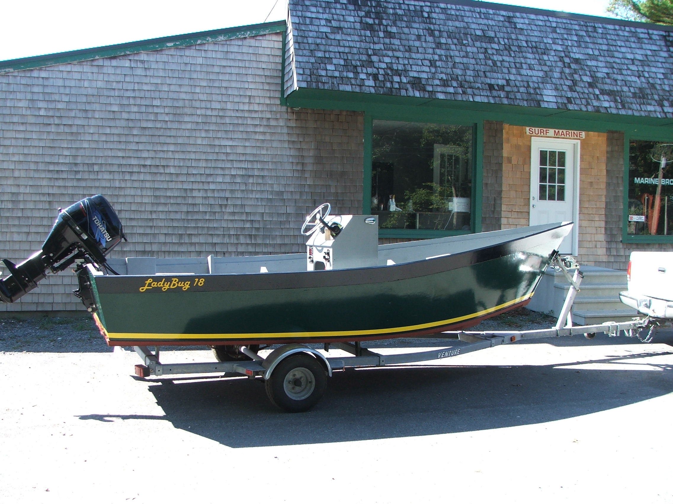 Fifth Additional product image for - Lady Bug Commercial Skiff Plans