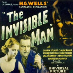 the invisible man (1933) - classic movie horror thriller -  claude rains, gloria stuart - mp4 download
