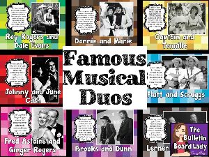 Musical Duos Bulletin Board | Other Files | Everything Else