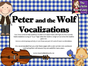 Peter and the Wolf Vocalizations | Other Files | Everything Else