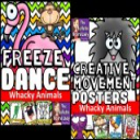 Whacky Animals Freeze Dance and Creative Movement | Other Files | Everything Else