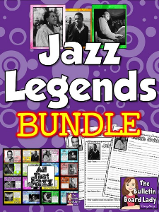 Jazz Musicians Bundle | Other Files | Everything Else