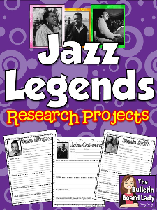Jazz Musicians Research Pages | Other Files | Everything Else