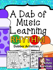 Dabber Activities RHYTHM | Other Files | Everything Else