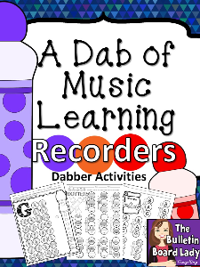 Dabber Activities RECORDERS | Other Files | Everything Else