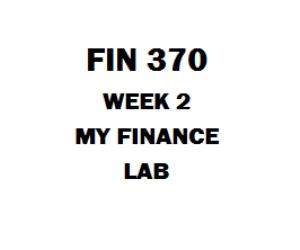 FIN 370 Week 2 Cash Flow Problem Sets Part 1 | eBooks | Education