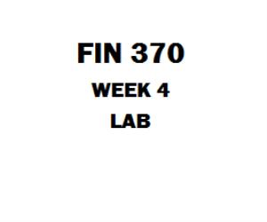 FIN 370 Week 3 Risk and Return Problem Sets | eBooks | Education