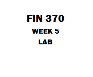 FIN 370 Week 5 MY Finance Lab | eBooks | Education