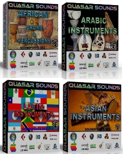 World Instruments Soundfonts Bundle Pack (You Save 20$) | Music | Soundbanks