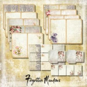 forgotten meadows book kit