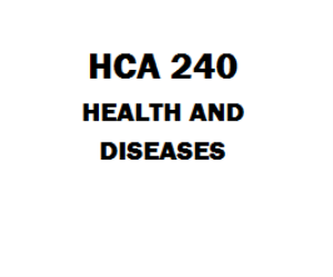 hca 240 disease trends and healthcare Hca 240 week 4 coder interview 40 3 2 years ago hca 270 financial concepts and reports 331 6 4 years ago.