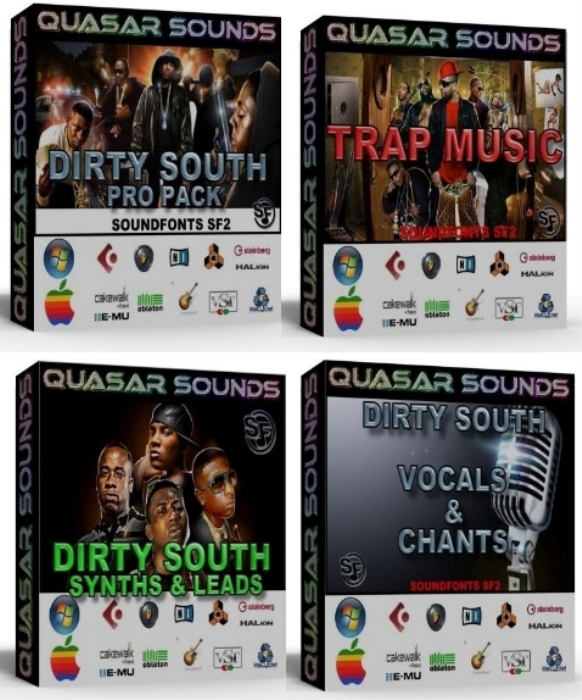 First Additional product image for - Trap & Dirty South Domination Kit Bundle Pack   You Save 22$