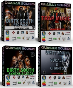 Trap & Dirty South Domination Kit Bundle Pack   You Save 22$ | Music | Rap and Hip-Hop