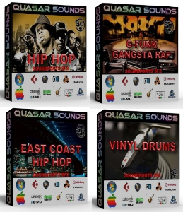 Hip Hop Producer Arsenal Drum Kit Bundle Pack   You Save 30$ | Music | Rap and Hip-Hop