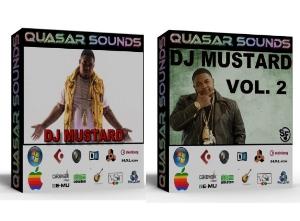 dj mustard drum kit  bundle pack vol.1 & 2  (you save 10$)