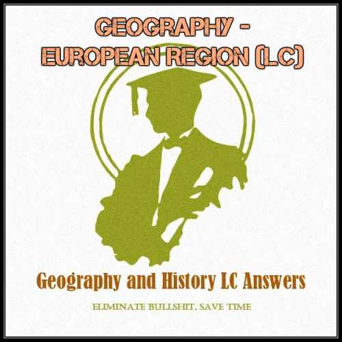 First Additional product image for - Geography - European Region (LC)