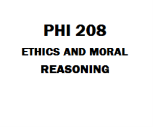 Ashford PHI 208 Ethics and Moral Reasoning | eBooks | Education
