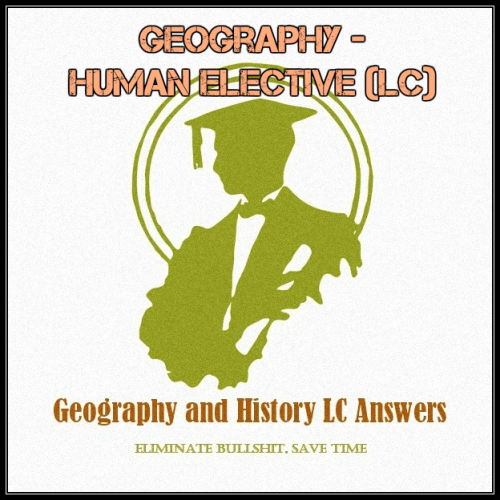 First Additional product image for - Geography - Human Elective (LC)