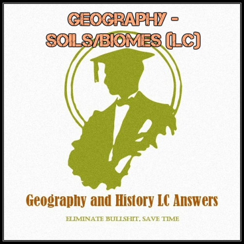 First Additional product image for - Geography - Soils/Biomes (LC)