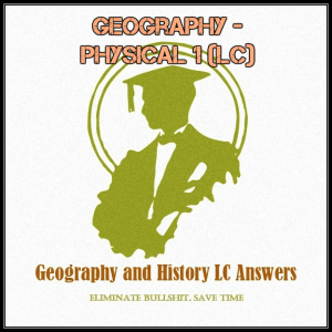 lc geography - physical geography 1