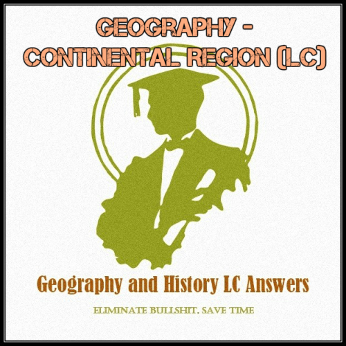 First Additional product image for - Geography - Continental Region (LC)
