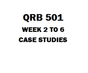 qrb 501 week 6 deliverable 6) which of the following statements is incorrect 7) three members form an llc in the current year which of the following statements is.