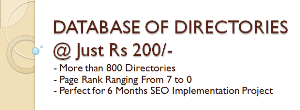 database of 800+ directories with pr 7 to 0