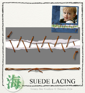 Suede Lacing | Crafting | Paper Crafting | Other