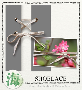 Shoelace | Crafting | Paper Crafting | Scrapbooking